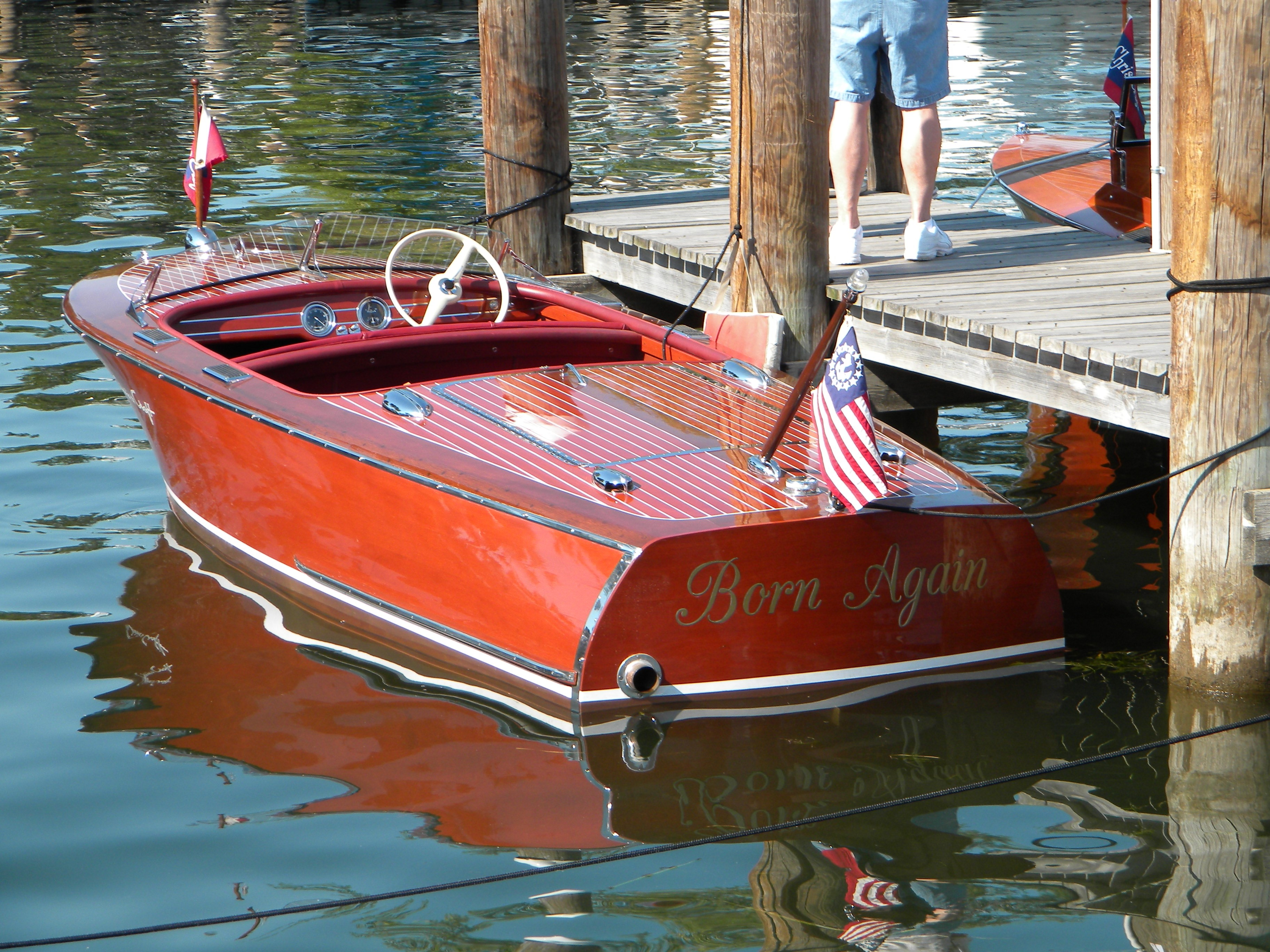 1949 Chris Craft Deluxe Runabout (John Freed)