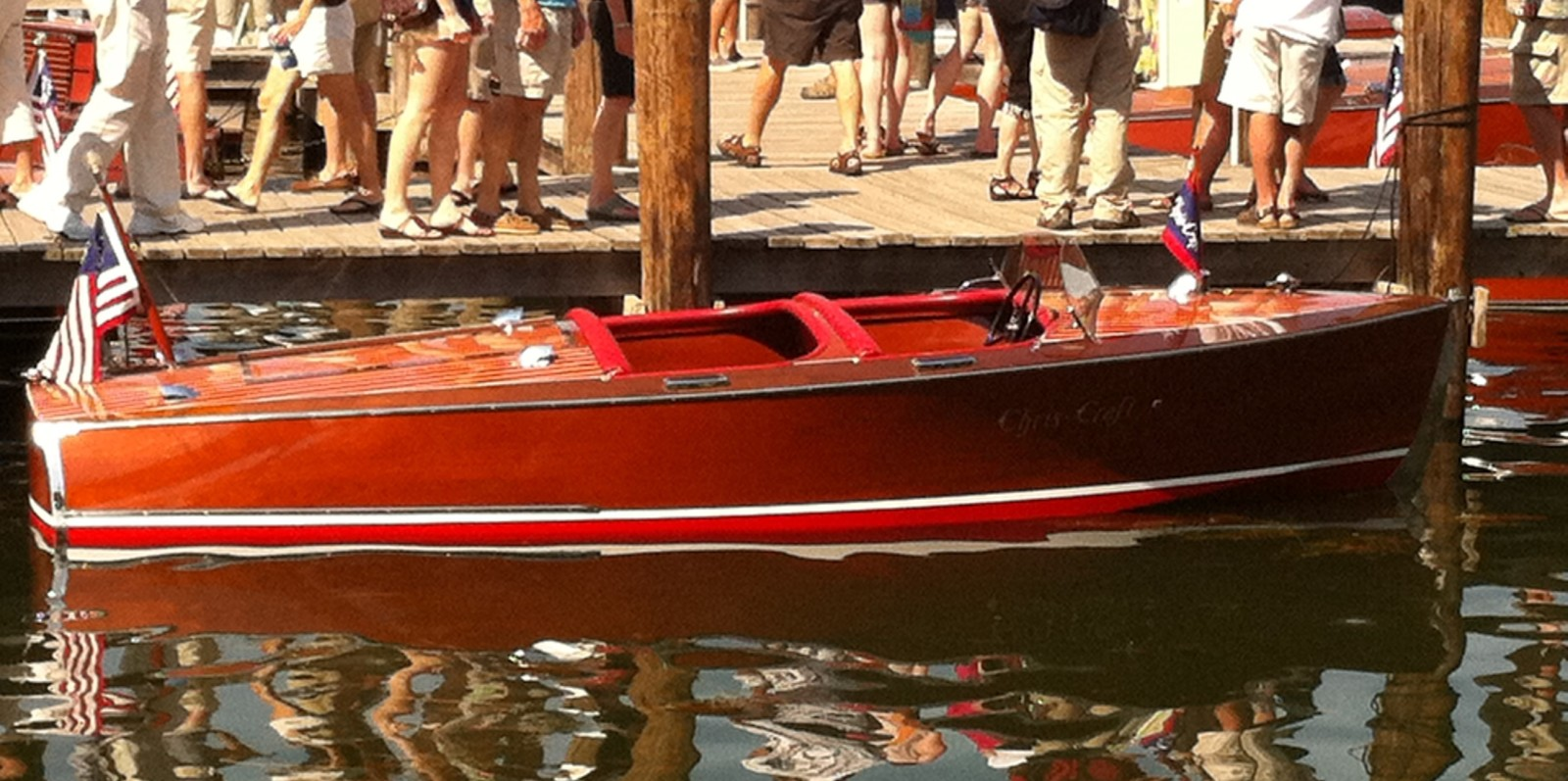 1942 Chris Craft Special Runabout (Mark & Liv Rosin)